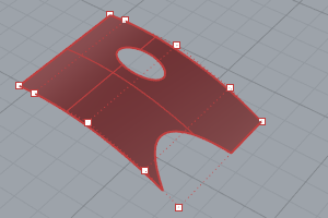 Split and trim commands | Rhino 3-D modeling