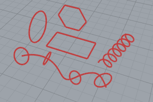 Drawing lines and curves | Rhino 3-D modeling