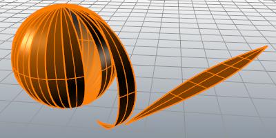 Unrollsrf Rhino 3 D Modeling