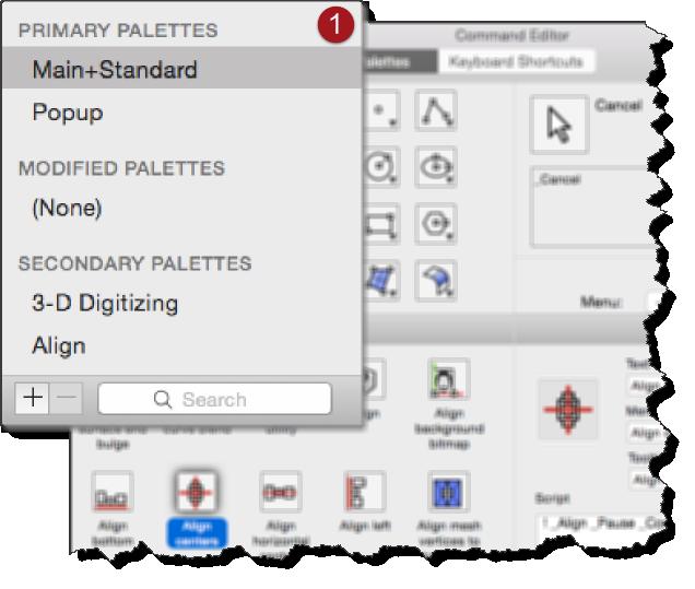 Commands settings | Rhino for Mac 3-D modeling